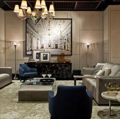 Fendi Huang Casa, opens its first Showroom at New York City Living Room  Interior e8185b7e080