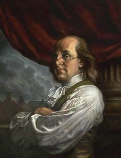 Benjamin Franklin is one of the most well known Founding Fathers of the United States. In 1730 Franklin acknowledged an illegitimate and only son William.  In 1752 when William was 21 he assisted his father in the famed kite experiment. William later became a steadfast Loyalist throughout the Revolutionary War despite his father's role as one of the most prominent Patriots during the conflict, a difference that tore the two apart.