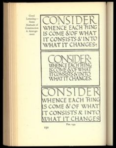 Writing & Illuminating, & Lettering Edward Johnston