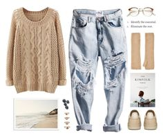 """""""high by the beach"""" by mara-xx ❤ liked on Polyvore featuring Harrods, Forever 21, RetroSuperFuture, women's clothing, women, female, woman, misses and juniors"""