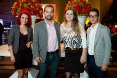 Amblard marca presença na festa de 10 anos do Shopping Cidade Maringá no Giardino Eventos.