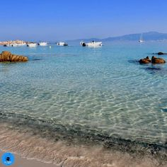 La plage de Mare e Sole ou plage d'Argent, en Corse Corsica, Santa Giulia, Porto Vecchio, Sainte Lucie, La Rive, Les Cascades, Europe, France, Beach
