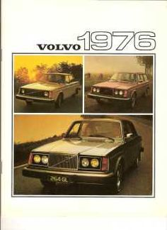 That car, that year - Volvo Ads - 1976 Volvo Brochure: 240 and 260