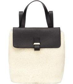 c6009c00f94d Whistles - Portland Shearling Backpack Rucksack Bag