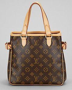 Louis Vuitton Monogram Canvas Batignolles Vertical #bags #fashion