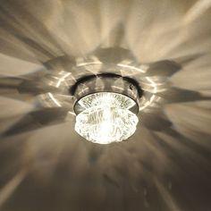 amzdeal® LED plafonnier en cristal lampe en cristal lumière de salon plafonnier de rose en cristal: Amazon.fr: Cuisine & Maison