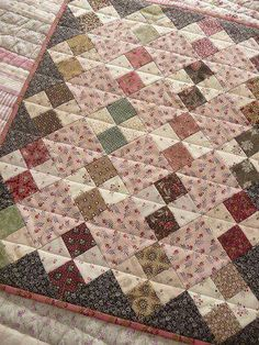 Quilt rombos