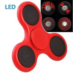 I Love You: Sag's durch Technik! I Love You Fidget Spinner mit LED-Anzeige! Das perfekte Weihnachtsgeschenk! Jetzt bei smartvie bestellen.