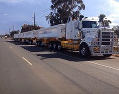 Kenworth Road Train by Trucker Dan, via Flickr