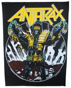 Anthrax - Judge Death (back patch)