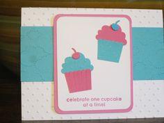 Child's Birthday card.  Stampin up