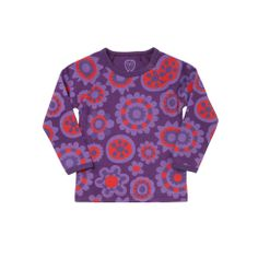 Ej Sikke Lej Big Blossom T-shirt - perfect for my little cuddlebug. She loves everyone and everything - such a little hippie!