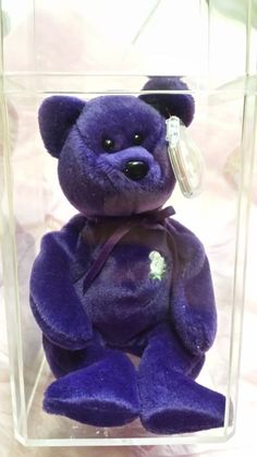 eaa26b316d1 Limited Rare Princess Diana Ty Beanie Baby 1st Edition Perfect Condition  Retired in Toys   Hobbies. eBay