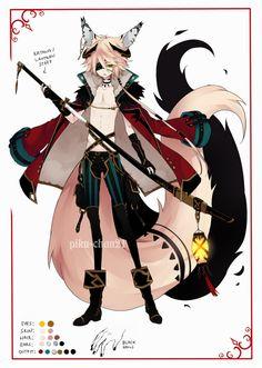 One of the spirit that part of the great kitsune. - mizukami no kage + Age : 1.599