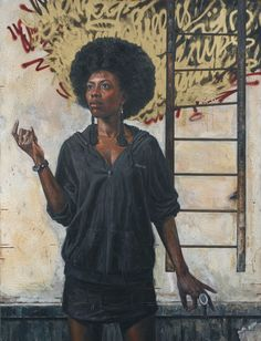 "Tim Okamura's painting ""The Ascension"""