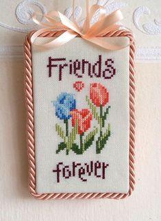 Sayings cross stitch.