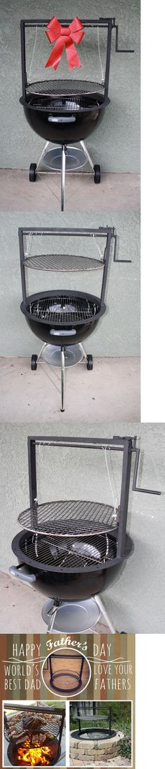 BBQ Tools and Accessories 20725: Weber Grill Accessories Adjustable Grate (Santa Maria Style Bbq ) 22.5 Kettle -> BUY IT NOW ONLY: $149 on eBay!