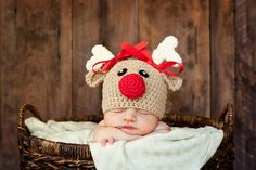Hey, I found this really awesome Etsy listing at https://www.etsy.com/listing/160438128/crochet-reindeer-hat-baby-reindeer-hat