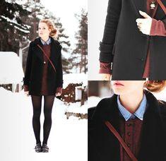 Vintage (by Petra Karlsson) http://lookbook.nu/look/4513875-Vest-Jacket-Shoes-Vintage