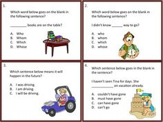 Review and grow your students' understanding of those tricky language standards with this appealing set of 36 language task cards. This resource addresses most common core 4th grade language standards (see below). Engaging pictures on each task card in this set keep learners attention to the task at hand. A language game board is also included to make the task cards more fun at a center, and for a partner activity. $