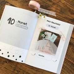 Deine Kugelzeit - unser Tagebuch für die Schwangerschaft findest du bei uns im Shop