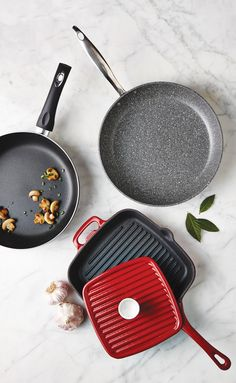 Stove top grilling is made easy with our fry pans, grill pans and skillets. Skillets, Food Prep, Grill Pan, Stove, Make It Simple, Grilling, Cooking, Easy, Kitchen