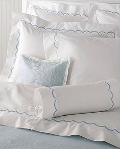 Scallop Bed Linens - Matouk