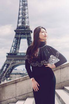 Photoshoot and Portrait Session in Paris with the iconic Eiffel Tower