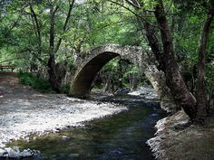 Tzielefos old Venician bridge - near Ag. Nikolaos village on the road from Paphos to Troodos