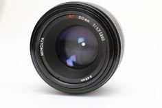 ♥ Minolta AF 50mm 1:1.7 (22) SONY ALPHA TOP und B+W 49 ES 1.1X Objektiv Konica