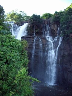 Boali Waterfalls Central African Republic