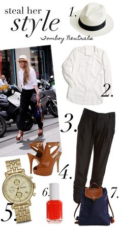 Steal Her Style: Tomboy Neutrals | www.theglitterguide.com