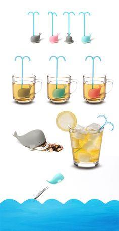 Dreaming Whale #Tea Infuser | Gongdreen