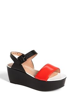 Dammit Robert Clergerie stop making so many shoes that I want! 'Frak' Wedge Sandal | Nordstrom