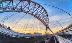 Long way home. HDR ponte ostiense roma | HDR Photography Giuseppe Sapori