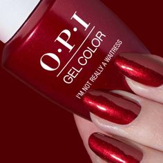 #OPI #Holidays #Nails #Shades #Gels #Classic #Colors #Reds