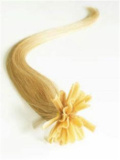 24 INCH HAIR EXTENSION BLONDE I TIP EXTENSION