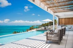 Beach Enclave North Shore, a luxury villa community on Providenciales in the Turks and Caicos. Available for rentals beginning November 2016.