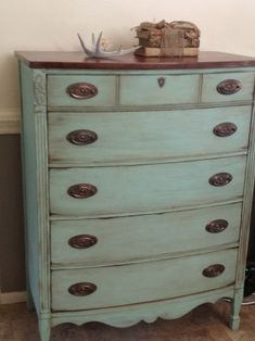 Details on how to refinish dresser