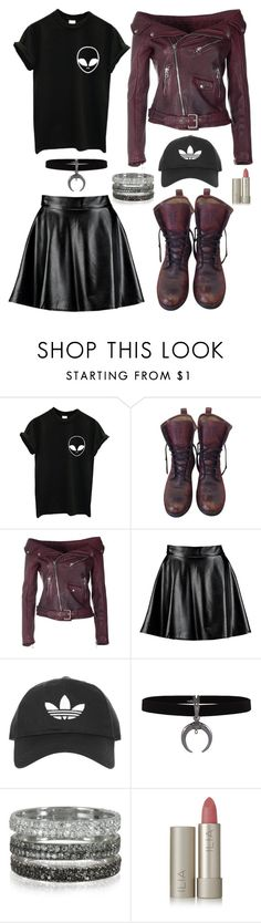"""Untitled #392"" by pqlq ❤ liked on Polyvore featuring Frye, Faith Connexion, Boohoo, Topshop, Bernard Delettrez and Ilia"