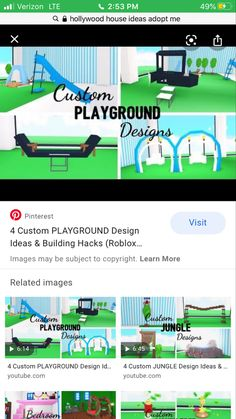 Minecraft House Designs, Minecraft Houses, Home Roblox, Pink Bedroom Decor, What To Do When Bored, Cute Room Ideas, Roblox Pictures, Hollywood Homes, Playground Design