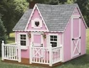build a playhouse-it can't get much cuter than this one