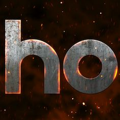 Create Hot Metallic Text in After Effects