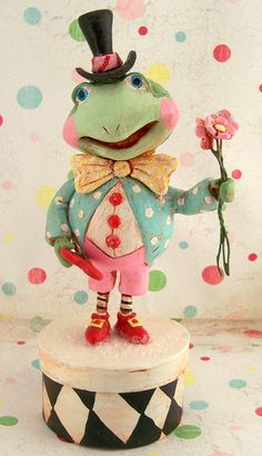 A Froggy Would a Wooing Go by thepolkadotpixie, via Flickr