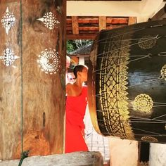 Novices are teaming up for an orchestra. These beats of a drum and sounds of cymbals and a gong are part of a full moon ritual at wats in