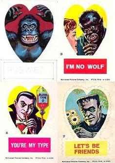 Vintage Monster Valentines - Boing Boing