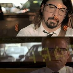 Dave Grohl Michael Douglas Falling Down Foo FIghters Walk Video Foo Fighters Videos, Nate Mendel, Chris Shiflett, Pat Smear, Foo Fighters Dave Grohl, Taylor Hawkins, Coldplay, Falling Down, Husband