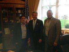 En Washington compartí con Congresistas algunas preocupaciones del rumbo del proceso de paz en La Habana. @PachoSantosC