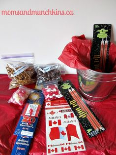Looking for a fun & unique host gift to bring along to a Canada Day Party? Try packing up some moose droppings, glow sticks & sparklers! Canada Day 150, Canada Summer, Host Gifts, Gifts For Mom, Canada Day Fireworks, Canada Birthday, Canada Day Party, Canadian Things, Boyfriend Gift Basket