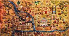 prof dr nurhan atasoy biyografi ile ilgili görsel sonucu Ottoman Empire, Archery, Istanbul, City Photo, Horses, Illustration, Painting, Maps, Geography